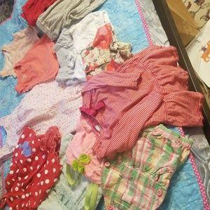 14 piece kids clothes lot osh kosh carters